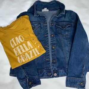 Denim Jacket by Style & Co w/free Ciao Bella shirt